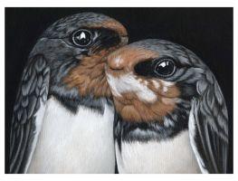 2008, Untitled - Acryl auf Leinwand (23 x 17cm) . moki