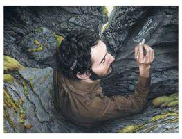 2008, Untitled - Acryl auf Leinwand (67 x 48cm) . moki