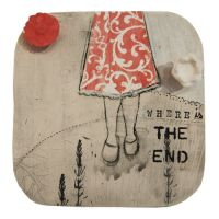 The End 20×20cm ©Jasnart