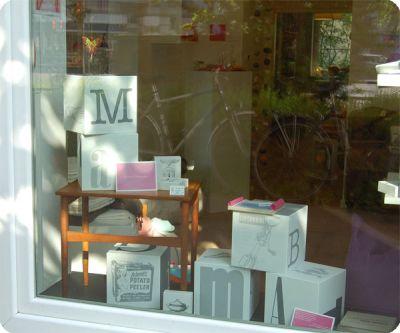Schaufenster von milchmädchen.design