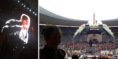 U2 im Olympia Stadion Berlin