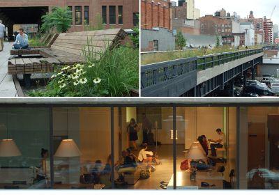 Ausblicke von der High Line