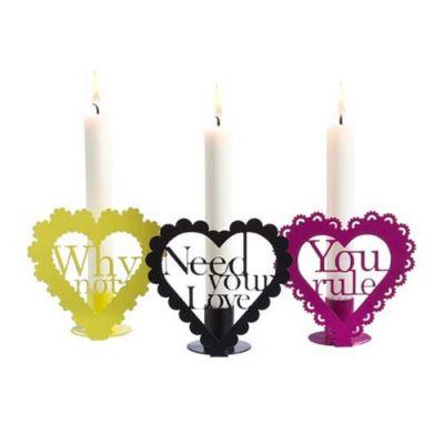 Kerzenständer LOVE AID von Superspace DK