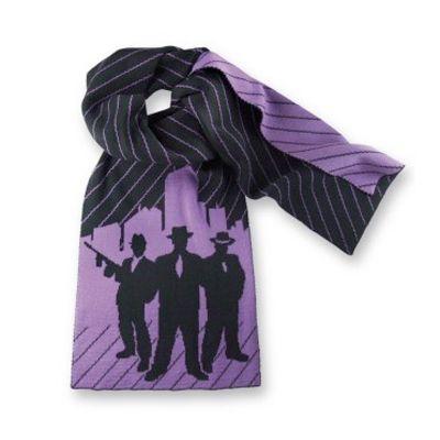 Udo Lindenberg trägt einen Schal von Uppercase